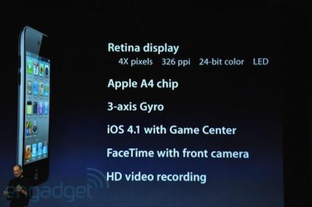 Apple renueva al completo la família iPod 6
