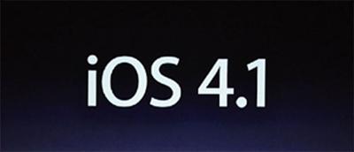 Apple libera el iOS 4.1 pero el DevTeam 'prohibe' a sus usuarios actualizar 3