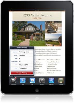 La impresión inalámbrica AirPrint de Apple para iPad, iPhone e iPod touch llegará a los usuarios en Noviembre 3