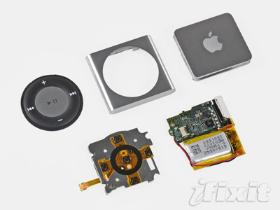 iFixit ha destripado el nuevo iPod shuffle 9