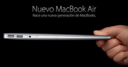 Apple presenta el nuevo MacBook Air 3