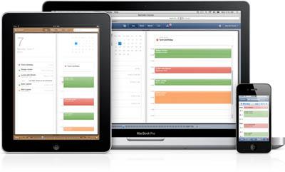Apple lanza nueva versión de MobileMe Calendar 3