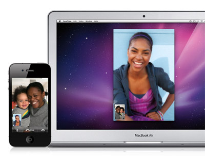 Apple incorpora FaceTime a Mac OS X 3