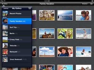 Apple actualiza MobileMe Gallery para iPhone a la versión 1.2 3