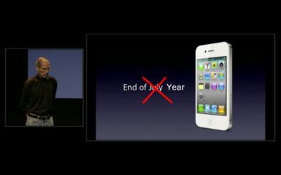 Apple retrasa el lanzamiento del iPhone 4 blanco hasta la primavera del 2011 3