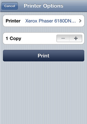 AirPrint funciona sólo para algunos usuarios con Mac OS X 10.6.5 3