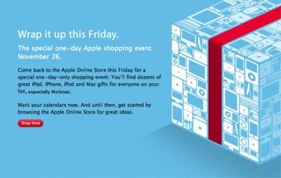 Apple anuncia descuentos para el próximo 'Viernes Negro' 3