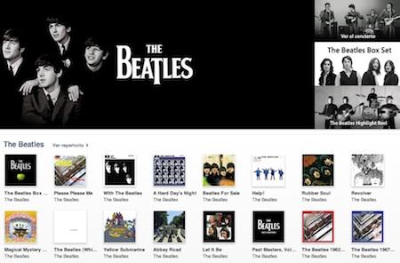 Los Beatles irrumpen en la iTunes Music Store 3
