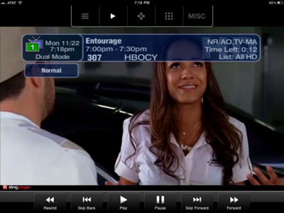 SlingPlayer Mobile llega al iPad 3