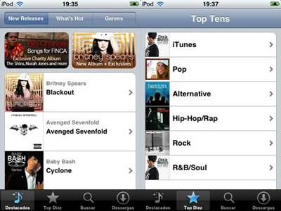 La música 'desaparece' de la aplicación iPod al actualizar al iOS 4.2.1 3