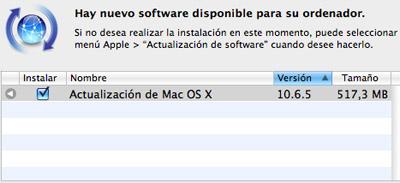 Mac OS X 10.6.5 está disponible para descarga 3