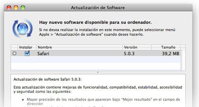 Safari es actualizado a la versión 5.0.3 para mejorar varios aspectos críticos del programa 3