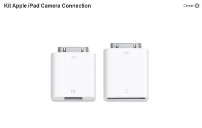 El Camera Connection Kit del iPad deja de funcionar en algunas unidades con el iOS 4.2 instalado 3