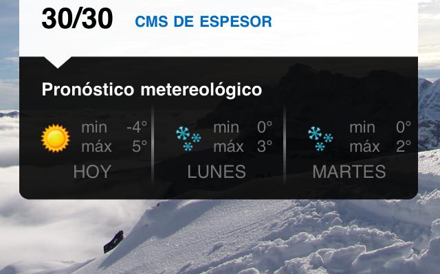 Organiza el viaje a esquiar desde tu iPhone 3