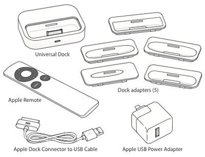 Apple actualiza el Dock Universal del iPod/iPhone y descontinúa el teclado alámbrico compacto de aluminio 3
