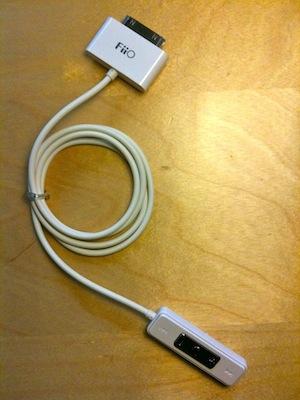 Fiio E1: Amplificador de auriculares para iPhone, iPod touch e iPad 5