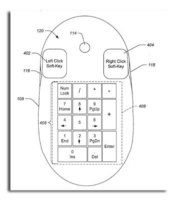 Patente de Apple desvela un ratón con pantalla multi-touch 5