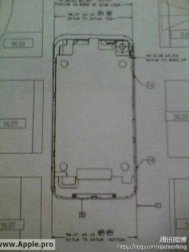 ¿Bosquejos del nuevo iPhone 5? 3