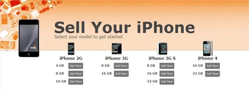 Página web compra unidades usadas del iPhone, aprovechando el lanzamiento del iPhone CDMA 3