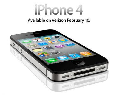 El iPhone de Verizon incorporará el iOS 4.2.6 3
