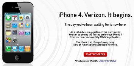 Las reservas en línea del iPhone CDMA de Verizon colapsan la web de la operadora 3