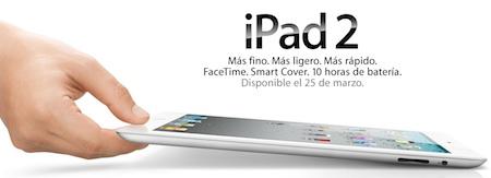 A 4 días del lanzamiento internacional del iPad 2 3