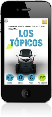iAd llega a España de la mano del Renault Twizy 5