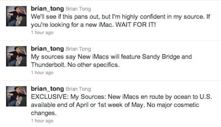 Podríamos tener nuevos iMac en aproximadamente un mes 3