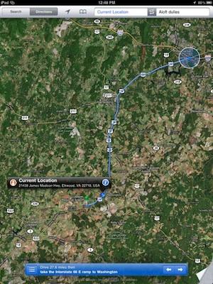 El iPad puede alimentarse de la señal GPS del iPhone 4 3