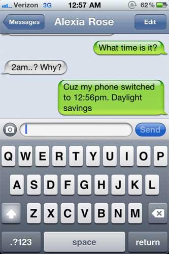 Los relojes de dispositivos con iOS experimentan problemas con el cambio de horario en Estados Unidos 3