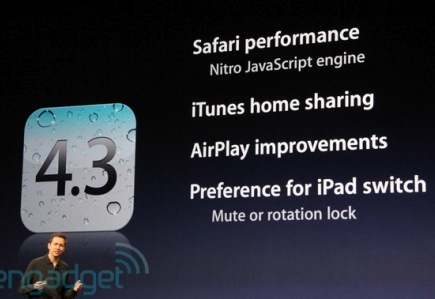 iOS 4.3 ya disponible 3