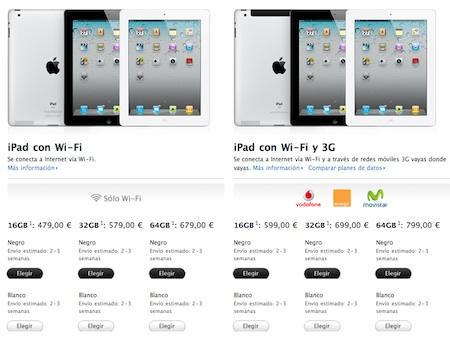 Ya se puede reservar el iPad 2 en la Apple Store online española 3