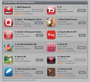 iMag, la revista española para iPad número 1 en descargas 3