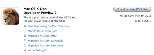 Apple pone disponible el Mac OS X 10 Lion 'Developer Preview 2' 3