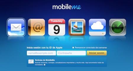 Relanzamiento de MobileMe en abril 3