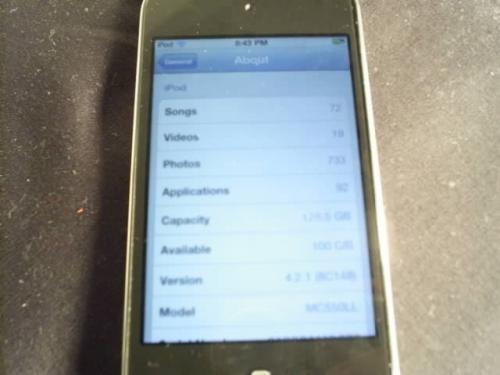 Rumor: Imágenes del iPod touch de quinta generación 8