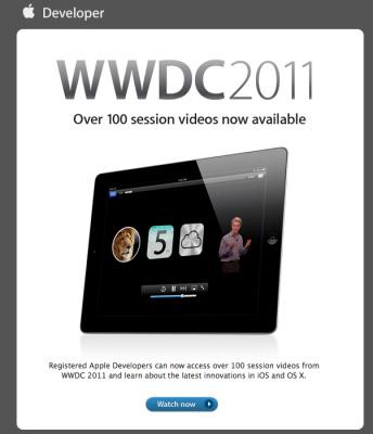 Apple pone a disposición de los desarrolladores los vídeos de las sesiones técnicas de la WWDC '11 3