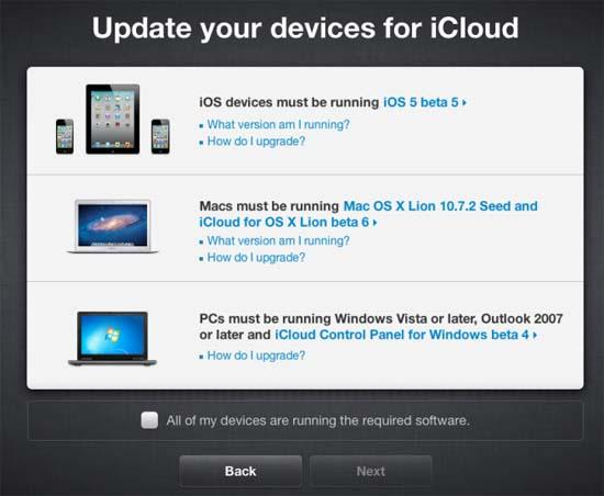 Comienza la migración de MobileMe a iCloud 17