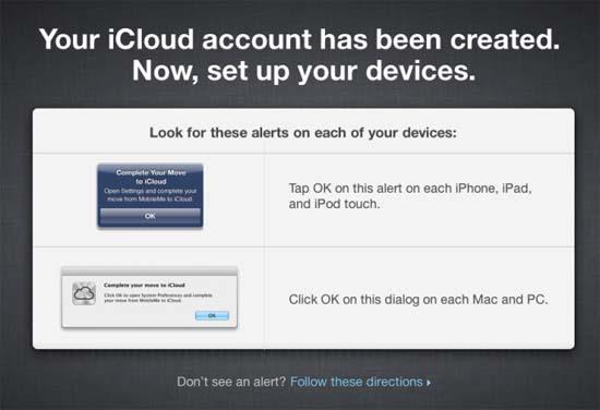 Comienza la migración de MobileMe a iCloud 18