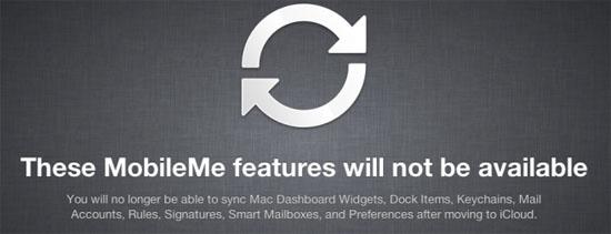 Comienza la migración de MobileMe a iCloud 16