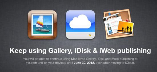 Comienza la migración de MobileMe a iCloud 15