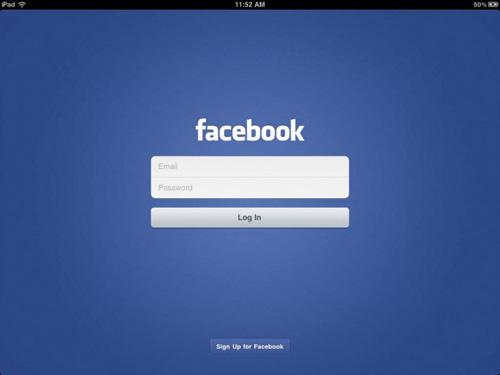 Facebook para iPad podría ser presentado en el próximo evento de Apple 3