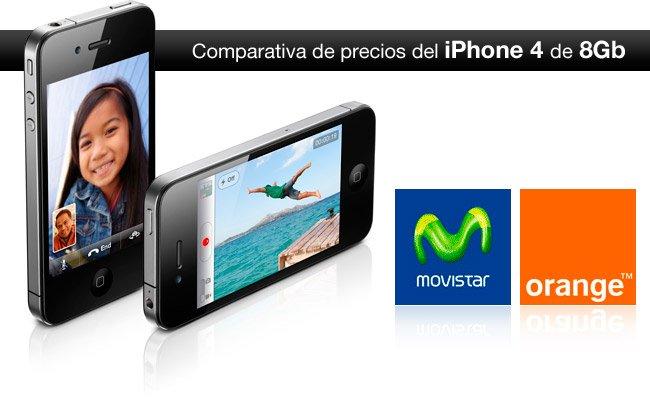Comparativa del precio de iPhone en Movistar y Orange 5