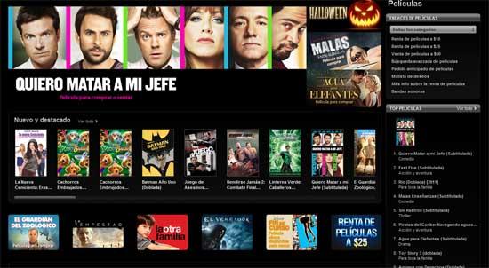 Apple comienza a ofrecer películas en nuevos mercados 3
