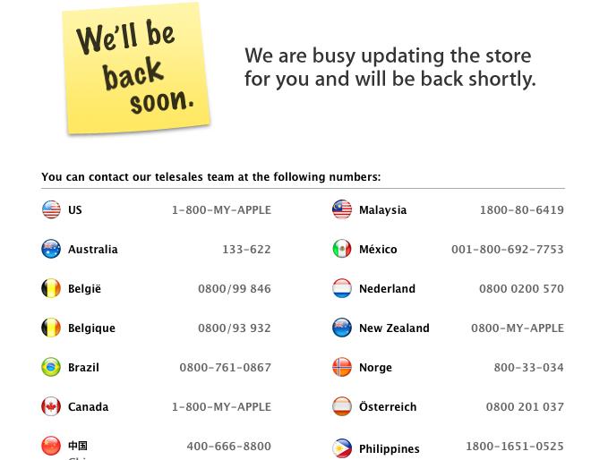 La Apple Store en España cierra por el Black Friday 3