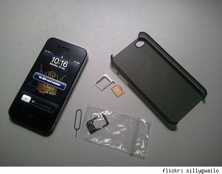 Problemas para las SIMs en el iPhone 4s 3
