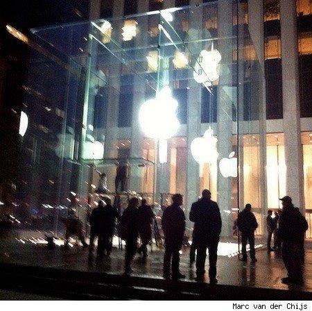 La sorpresa de la 5ª avenida de la Apple Store revelada 5