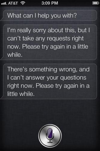 Siri experimentó 'apagón' masivo en Estados Unidos 3