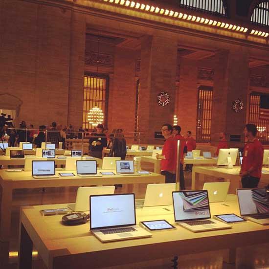 Primeras imágenes de la Grand Central Apple Store 3