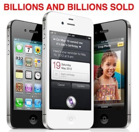 Millones de iPhone vendidos en el cuarto trimestre de 2011 3